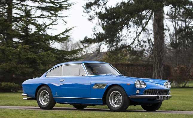 John Lennon's first cars, a 1965 Ferrari