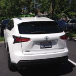 Driving the Tour of California in a Lexus SUV #3 2
