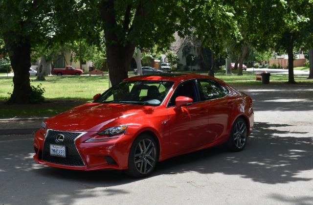 The 2016 Lexus IS200 is a new vehicle for the upscale brand
