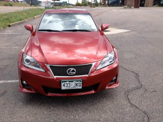 2014 Lexus IS 350C: Day 1 driving the USA Pro Challenge 3