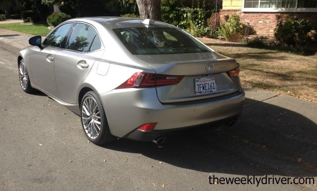 2015 Lexus IS 250: Comfort, control, cool 7