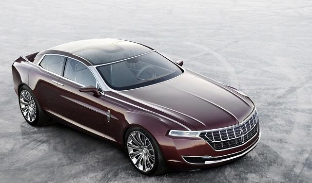 The 2016 Lincoln Concept will be displayed at the New York Auto Show.