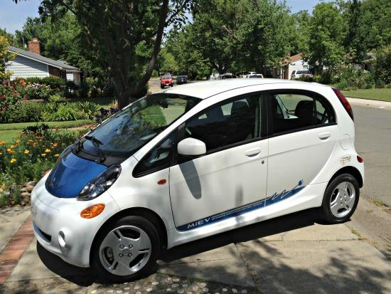 Mitsubishi i-MIEV is an unheralded all electric vehicle.