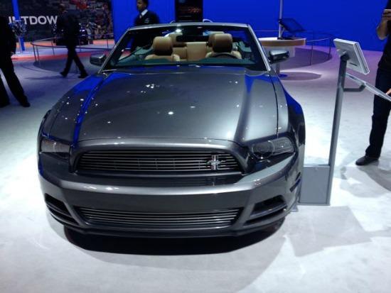 2013 LA Auto Show: 2014 Ford Mustang.
