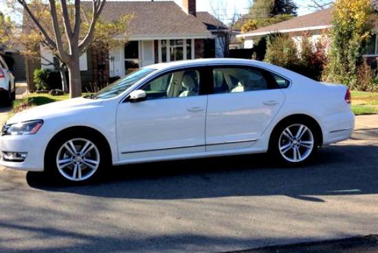 The 2014 Volkswagen Passat is a near-luxury sedan with a value price.