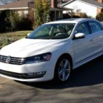 The 2014 Volkswagen Passat has European exterior styling.