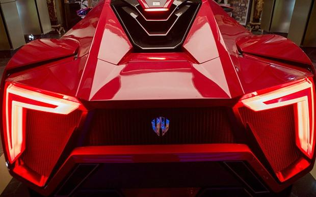 A Lykan HyperSport, the most expensive car used in Fast & Furious 7.