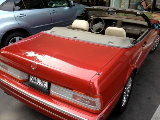 The Cadillac Allante appearance was unlike any other in the auto industry.