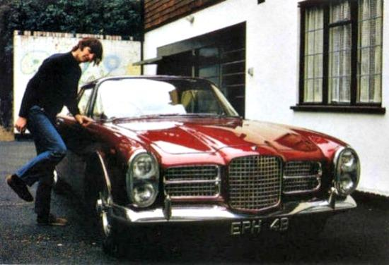 The rare 1964 Facel coupe once owned by Ringo Starr.