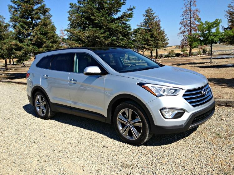 The newly designed 2013 Hyundai Santa Fe