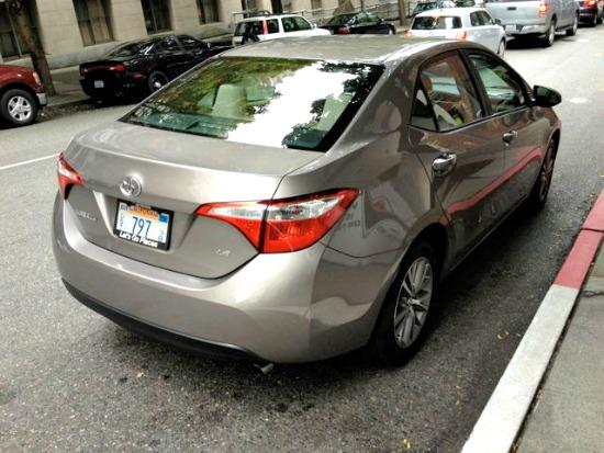 The 2014 Toyota Corolla has been designed.