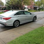 The 2014 Hyundai Sonata features a refreshed interior and exterior.