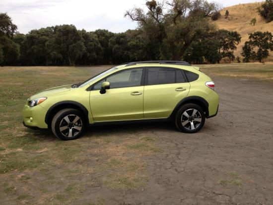The 2014 Subaru XV Crosstrek is the carmaker's first full hybrid.