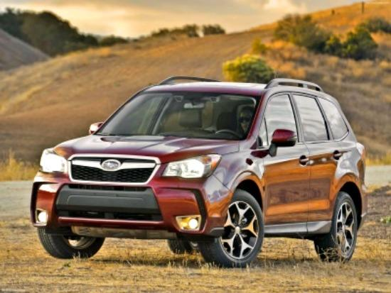 Motor Trend: 2014 Subaru Forester SUV of the Year 4