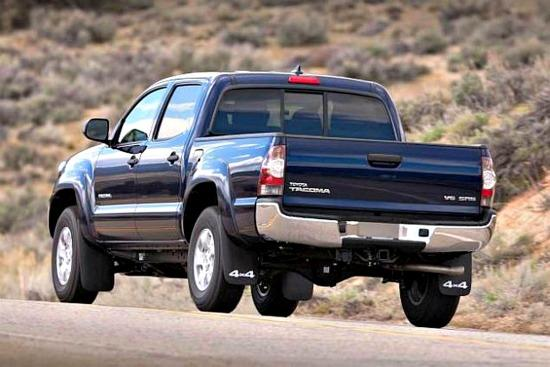 Prices set for refreshed 2014 Toyota Tacoma