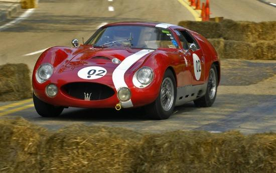A one of a kind Maserati Tipo 151 will be driven at Mazda Raceway Laguna Seca.