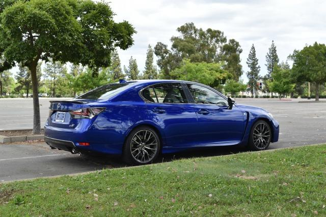 2016 Lexus GS-F: Luxury sedan, sports car attitude