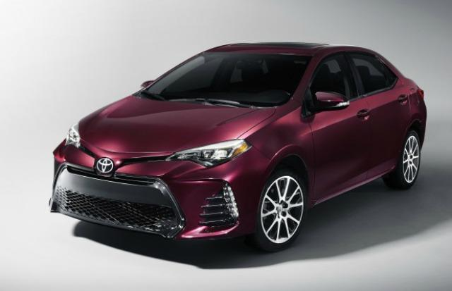 The 2017 Toyota Corolla will feature refreshed styling and a 50th anniversary edition.