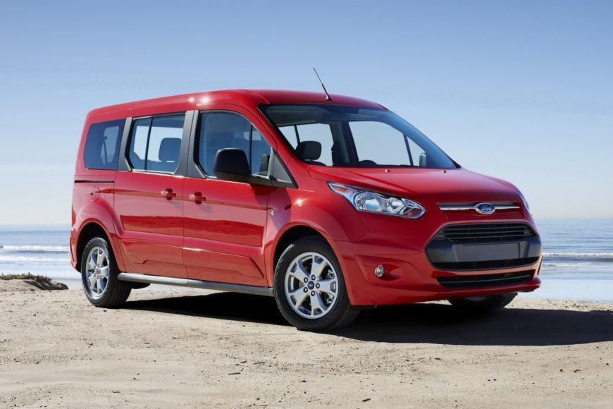 The 2014 Ford Transit Connect has been redesignee.