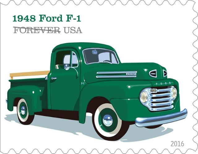 The legacy of U.S. pick-up trucks is being honored on postage stamps.