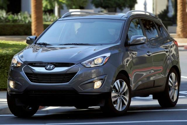The 2015 Hyundai Tucson has new technology options.