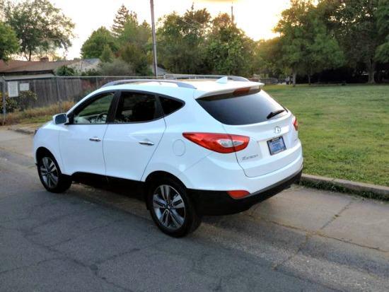 The 2014 Hyundai Tucson has a sport wagon tendencies.