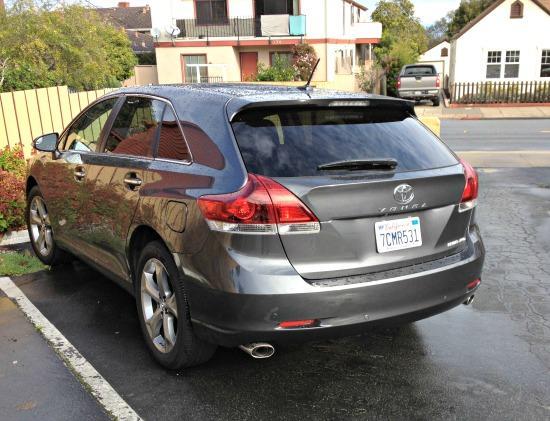 The 2014 Toyota Venza is versatile.
