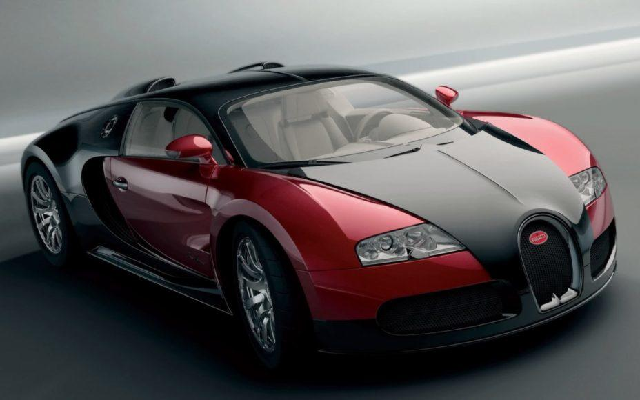 Bugatti Veyron: World's fastest production car.