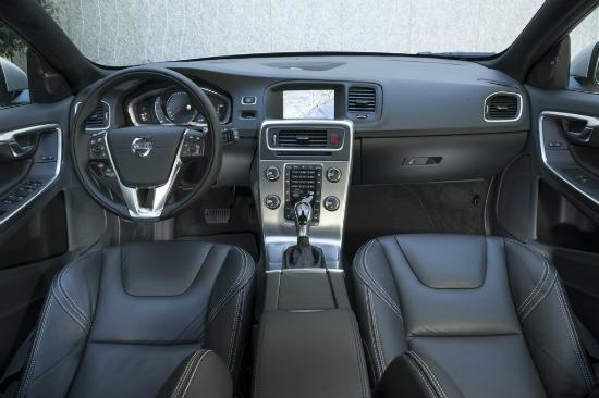 The 2015 Volvo XC60 has the carmaker's siignature interior styling.