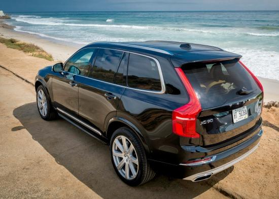 2016 volvo xc90 style safety in new luxury suv. Black Bedroom Furniture Sets. Home Design Ideas