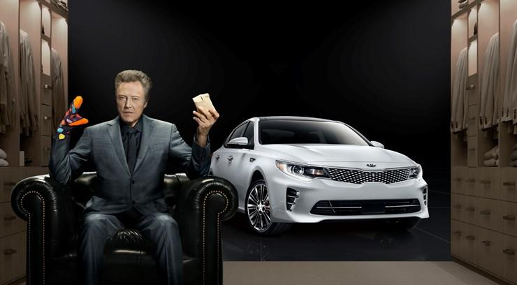 Christopher Walken Sells Kia in Super Bowl with socks