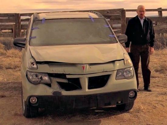 Breaking Bad Honors Pontiac Aztek As Worst Car Ever The