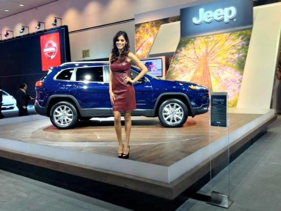Product specialists are an auto show tradition.